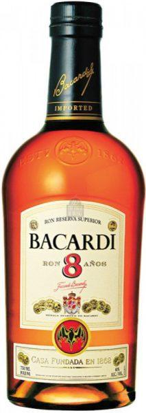 Bacardi – 8 yr Reserva (Anos)