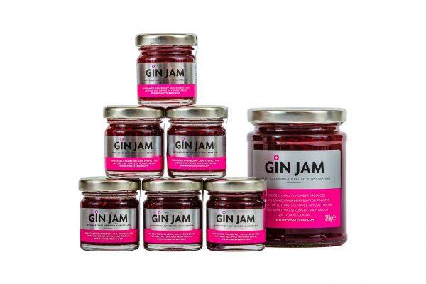 Pinkster Gin Jam 42gm Miniatures (35)