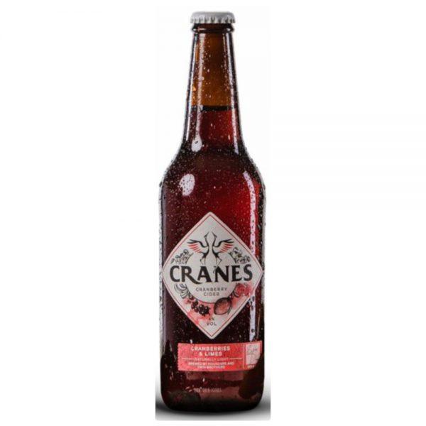 Cranes Cranberry & Lime Cider 12x500mlx4%
