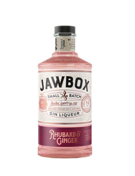 Jawbox – Rhubarb & Ginger, Gin