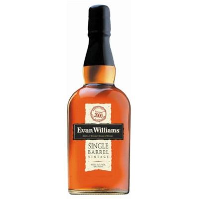 Evan Williams – Single Barrel, Vintage Bourbon