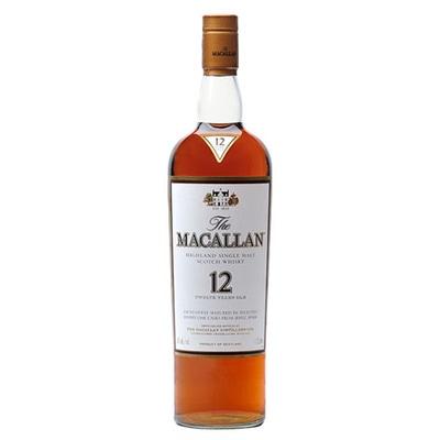 Macallan 12 yr Sherry