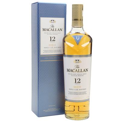 Macallan 12yr Triple Cask