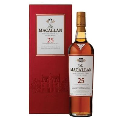 Macallan 25yr Sherry