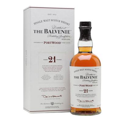 Balvenie 21 yr – Port Wood – Limited availability