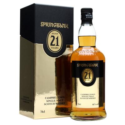 Springbank 21 yr