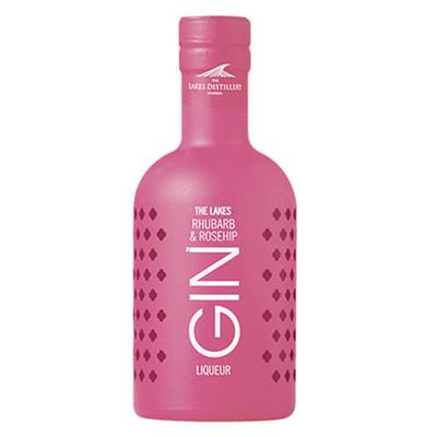 The Lakes Rhubarb & Rosehip, Gin Liqueur