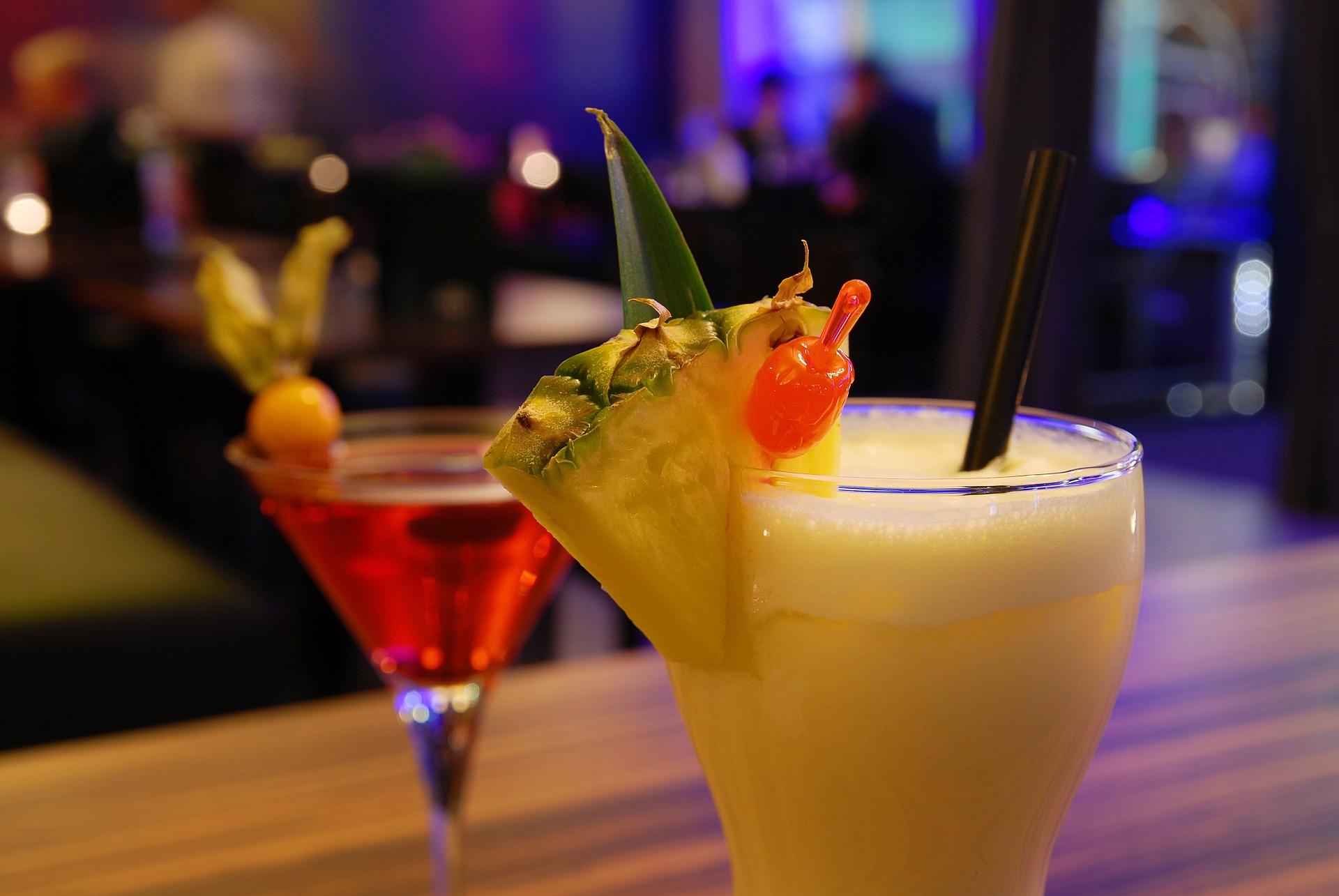 Sample Cocktail Menu