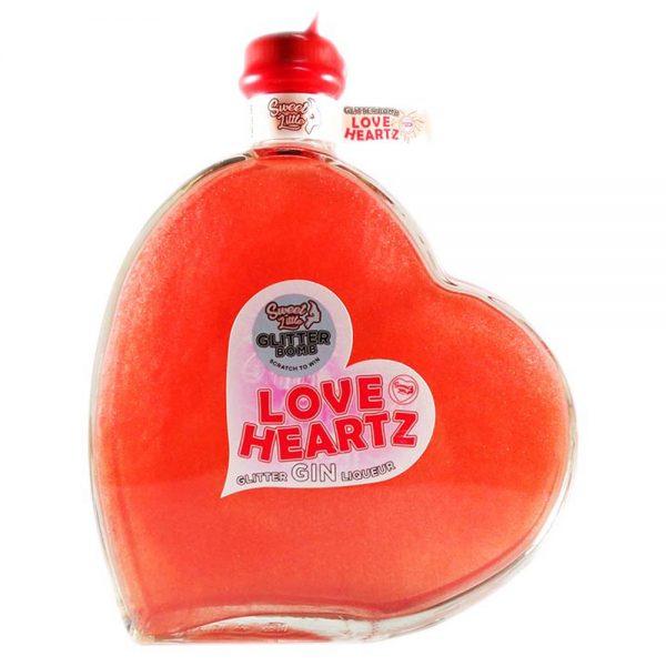 Sweet Little Glitter Love Hearts