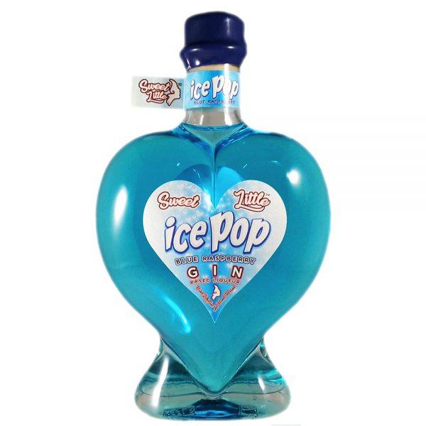 Sweet Little Blue Raspberry Ice Pop