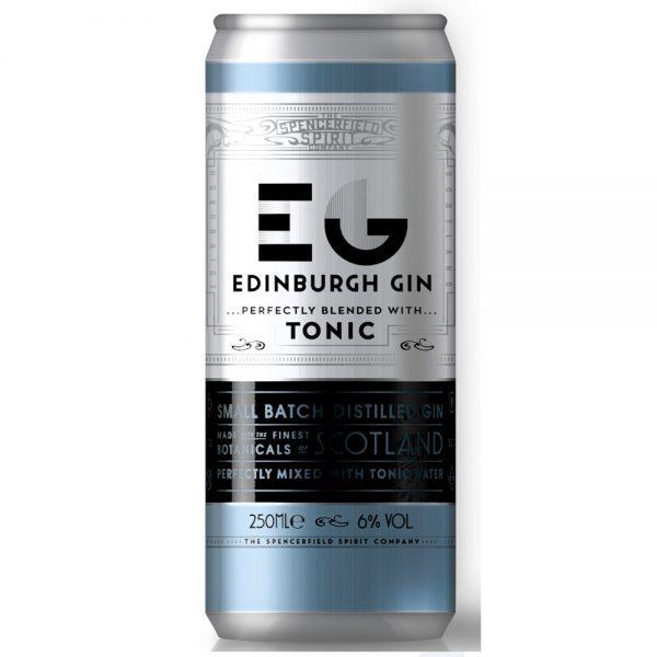 RTD Edinburgh – Gin & Tonic 12x25cl