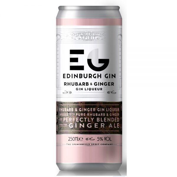 RTD Edinburgh Rhubarb & Ginger/Ginger Ale 12x25cl
