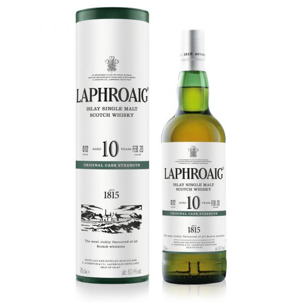 Laphroaig — 10yr CASK STRENGTH