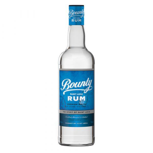 Bounty rum white st lucia rum