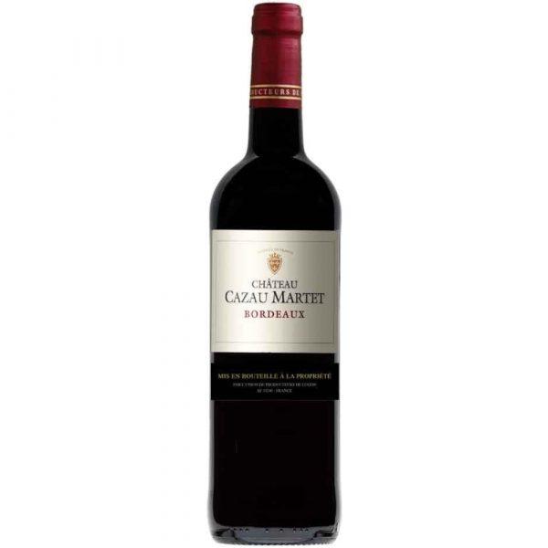 Chateau Cazau Martet Organic Bordeaux Rouge 2016